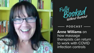 Ep48: How Massage Therapists can return to work with COVID infection controls (safely)